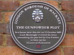 plaque at 244-278 Crondall Street, Hoxton