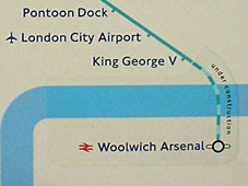 DLR to Woolwich Arsenal
