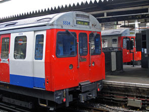Circle line at Edgware Road