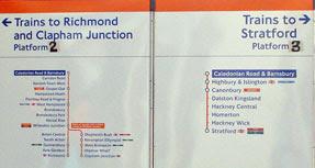 Caledonian Road & Barnsbury signage