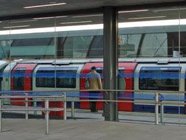 Stratford platform 3a