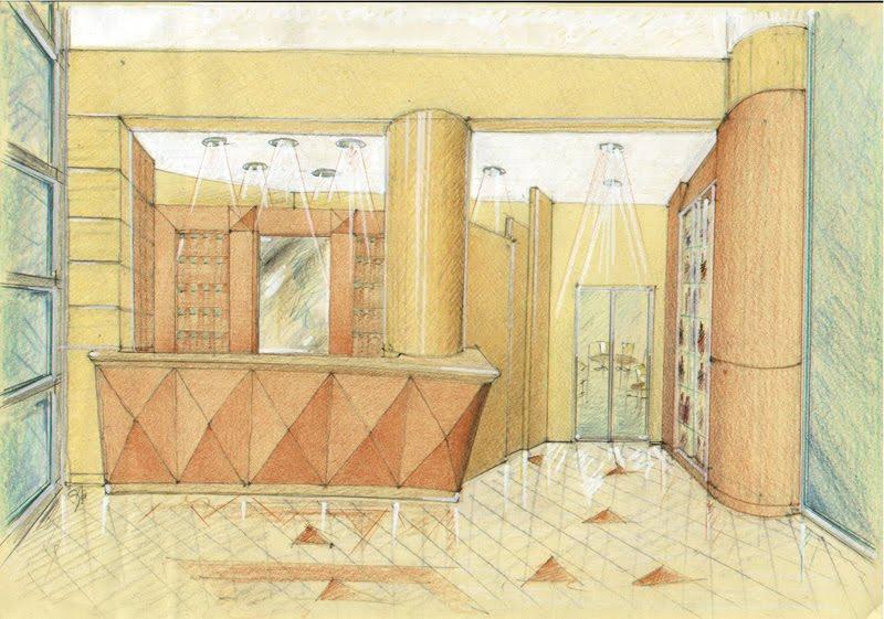 Vent 39 anni di disegni dell 39 arch antonio saporito albergo for Semplici piani di una stanza