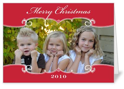 Burkett Blessings Shutterfly Holiday Cards Surprise For