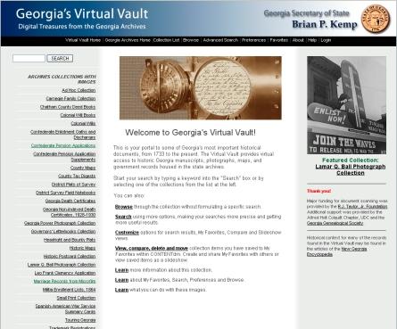 my georgia roots: ga-vault!