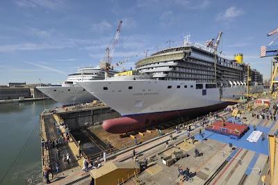 Varo tecnico di costa deliziosa pazzo per il mare cruise for Costa pacifica piano nave