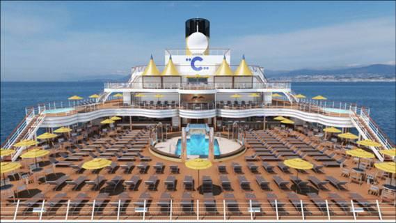 Economia del mare settembre 2010 - Costa luminosa piscine ...