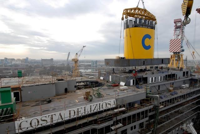 Economia del mare febbraio 2009 for Costa pacifica piano nave