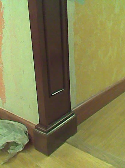 Arco decorativo pasillo muebles cansado zaragoza - Como pintar el pasillo de mi casa ...