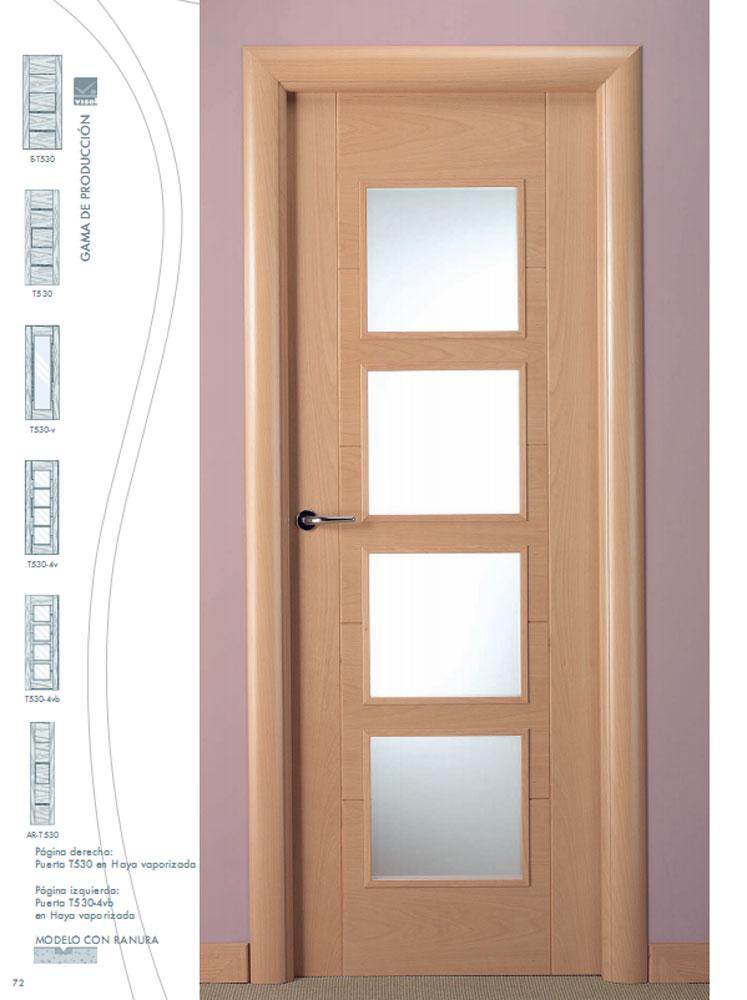 Puertas de interior precios beautiful puerta haya for Precio puertas interior madera maciza