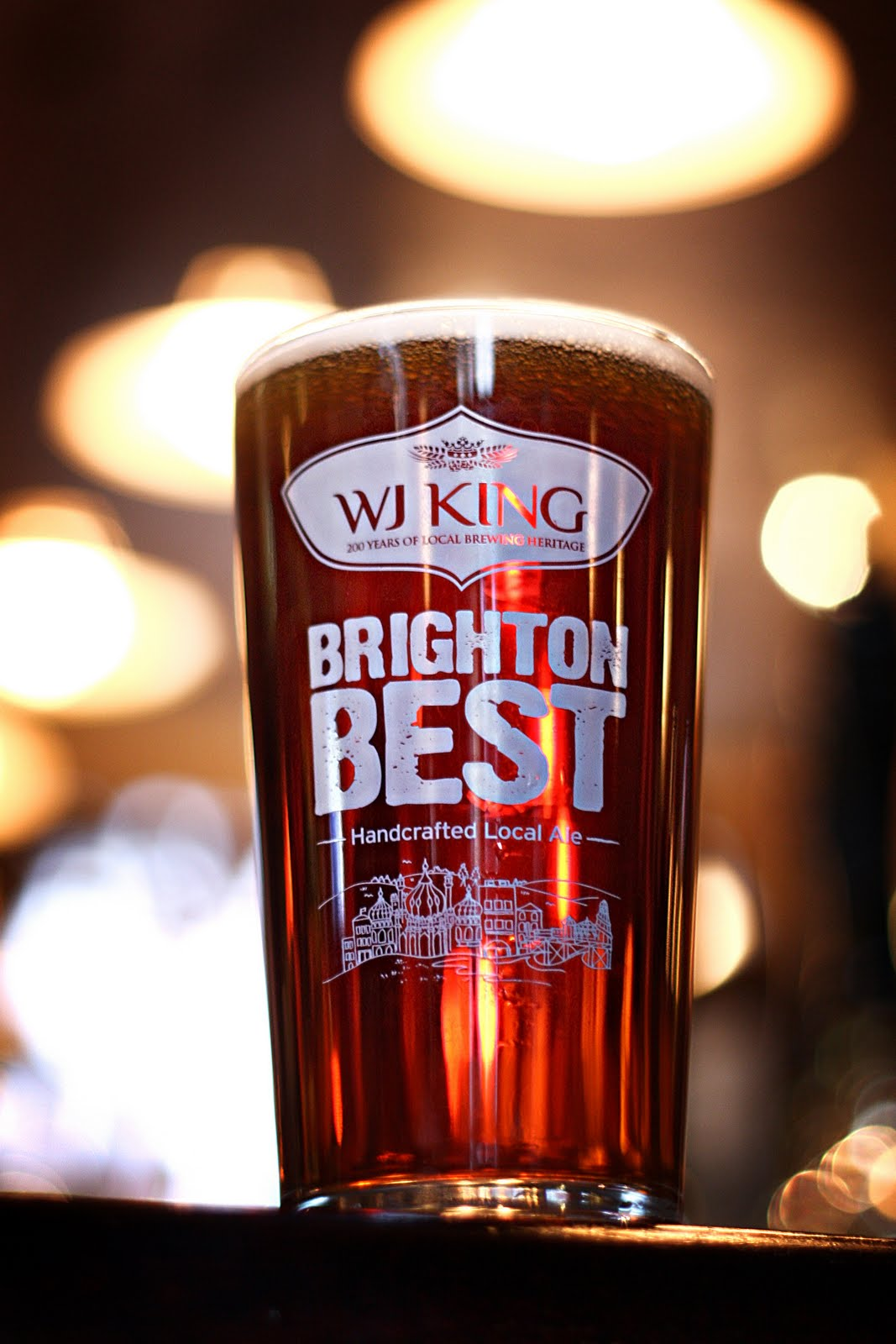 Brighton Best is a local beer