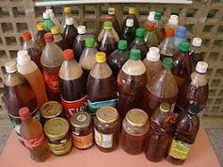 Recolhimento do óleo de cozinha usado