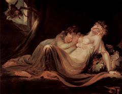 El íncubo abandona a las jóvenes durmientes