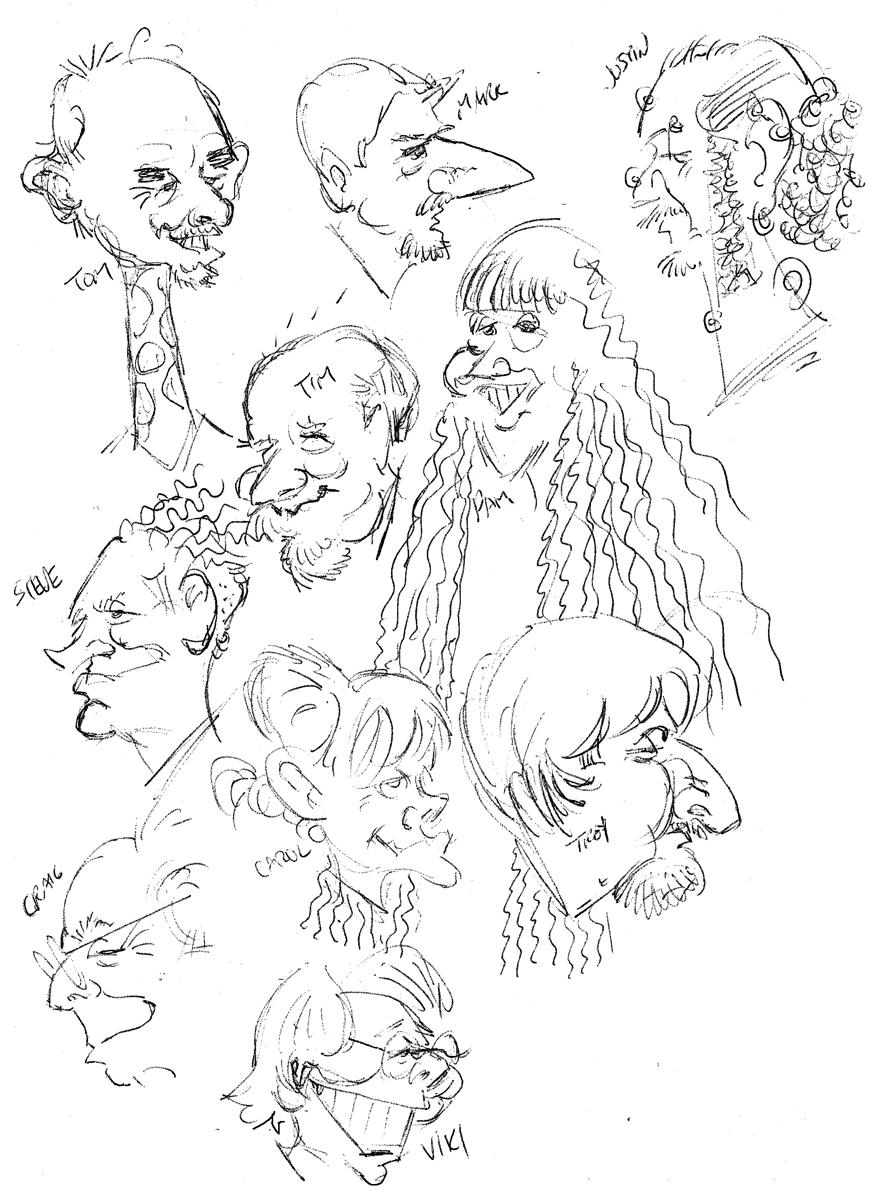 Cincinnati Illustrators Blog: Christmas Party 2010 Pictures!