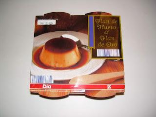 Flan de huevo DIA - El blog de las marcas blancas - www.BlogMarcasBlancas.com