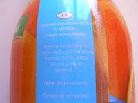 Zumo de naranja VITAFIT (LIDL) | El blog de las marcas blancas (www.blog-marcas-blancas.blogspot.com)
