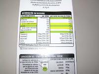 Leche semidesnatada con calcio EROSKI | El blog de las marcas blancas (www.blog-marcas-blancas.blogspot.com)