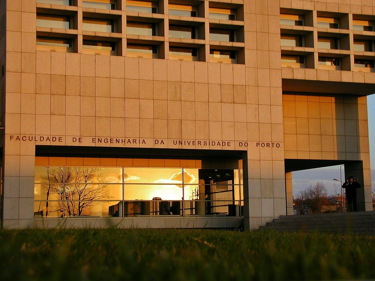 Estudando em Portugal: Faculdade de Engenharia da Universidade do  #B25102 1280 960