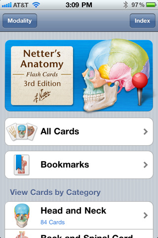 Netter\'s Anatomy Flash Cards, 3rd Edition IPA 2.2» Android apk app ...