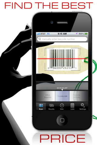 barcode reader for iphone. arcode scanner app. iphone