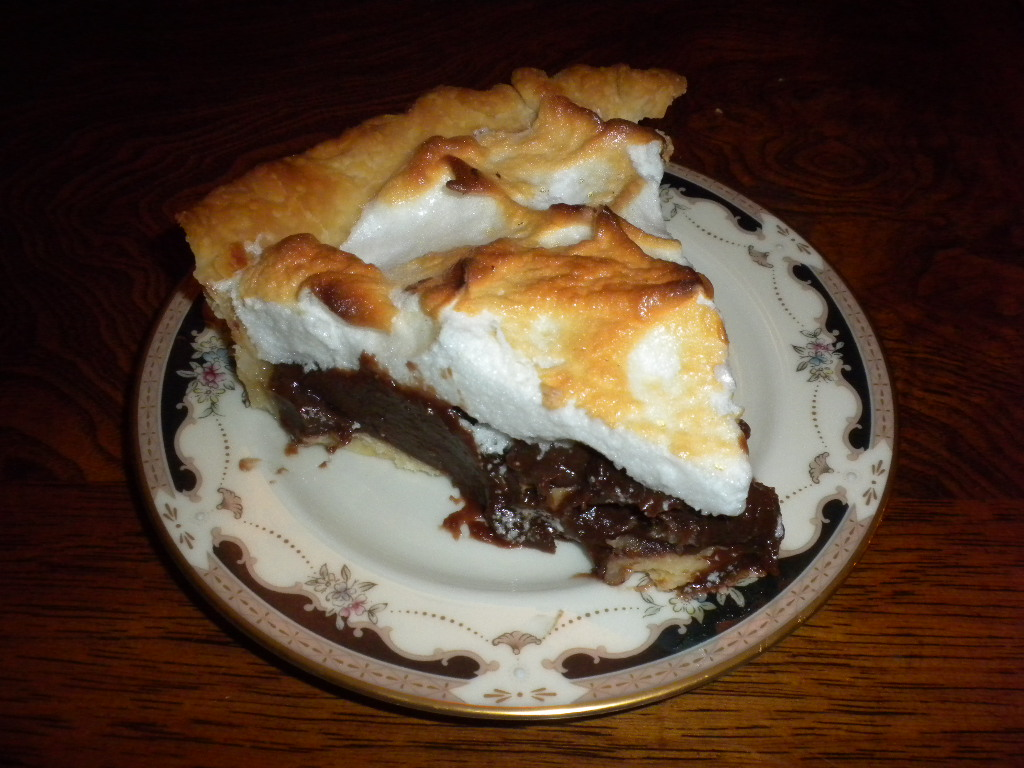 Life is Delicious: Mom's Chocolate Pie