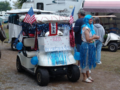 The Golf Cart Parade