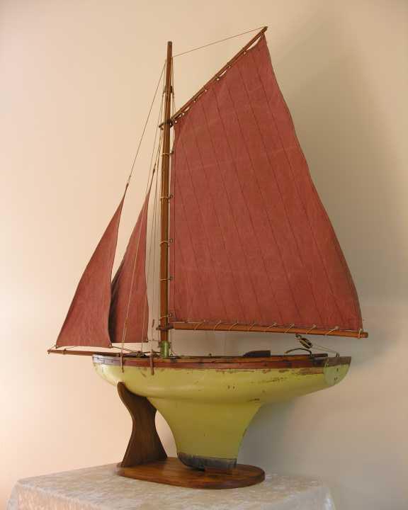 Quinze marins sur le bahut du mort bateaux jouets voiliers de bassin - Voilier de bassin ancien nanterre ...