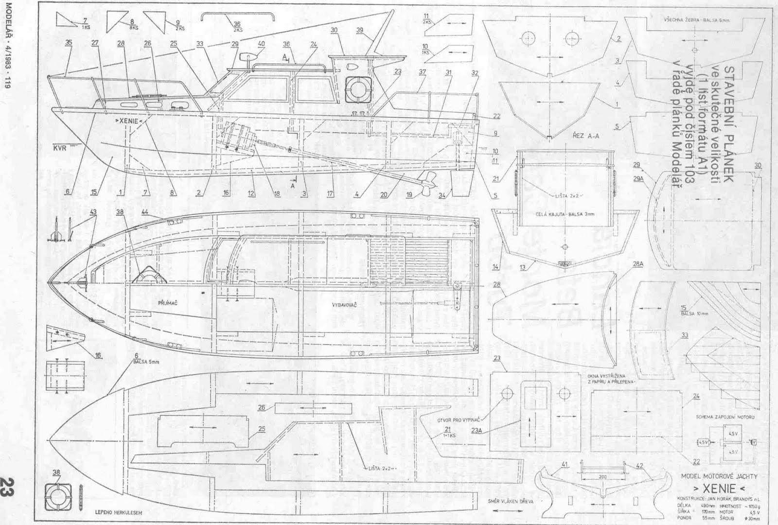 Bateau boat plans | Sepla