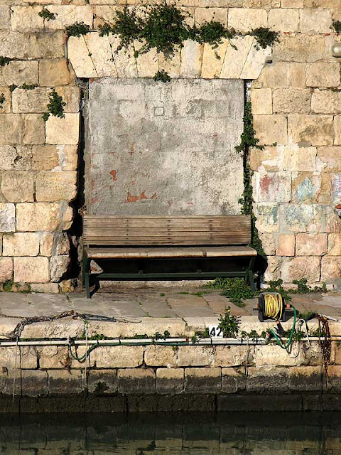 Bench on the Fosso Reale, Livorno