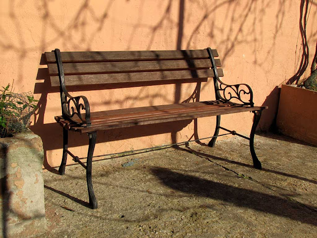 Bench facing the Fosso Reale, Livorno