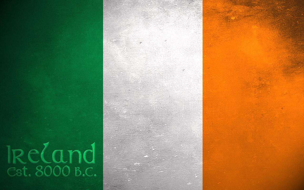 robbie keane irish flag