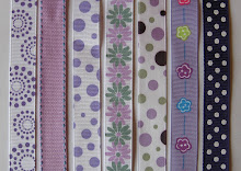 Wide Bow Patterns: Purples