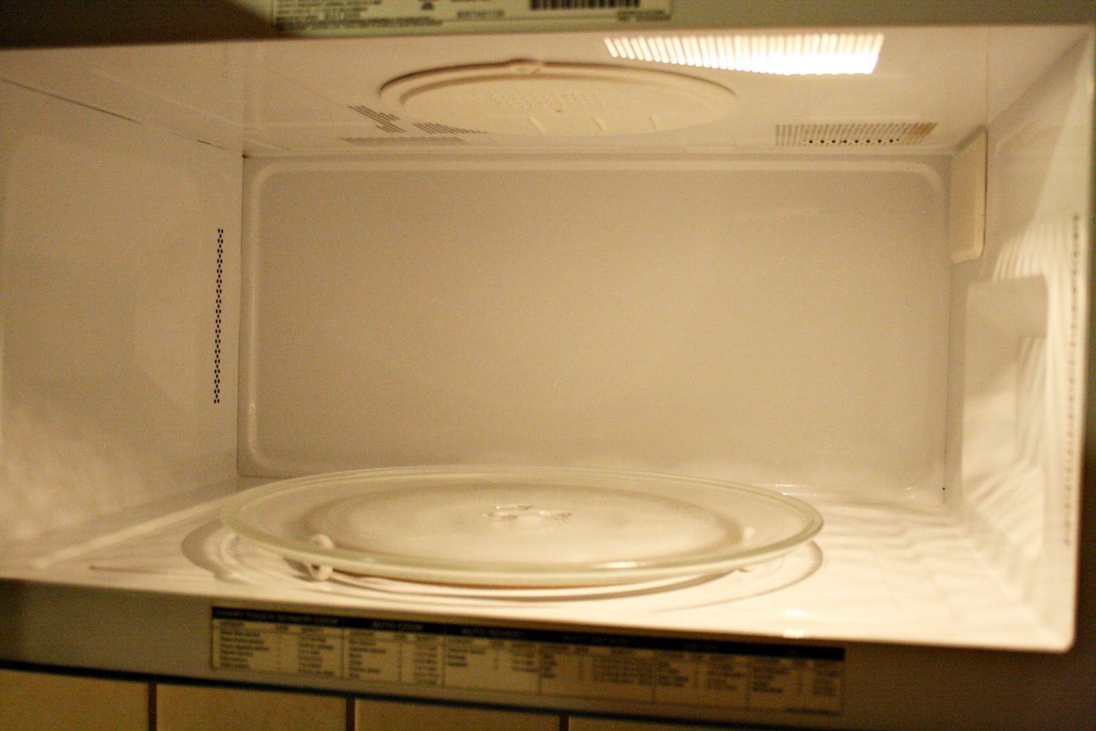 how to clean my microwave