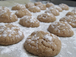 עוגיות הפתעה אגוז פריכות