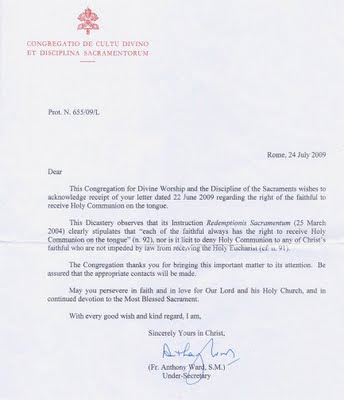 catholic confirmation letter of recommendation