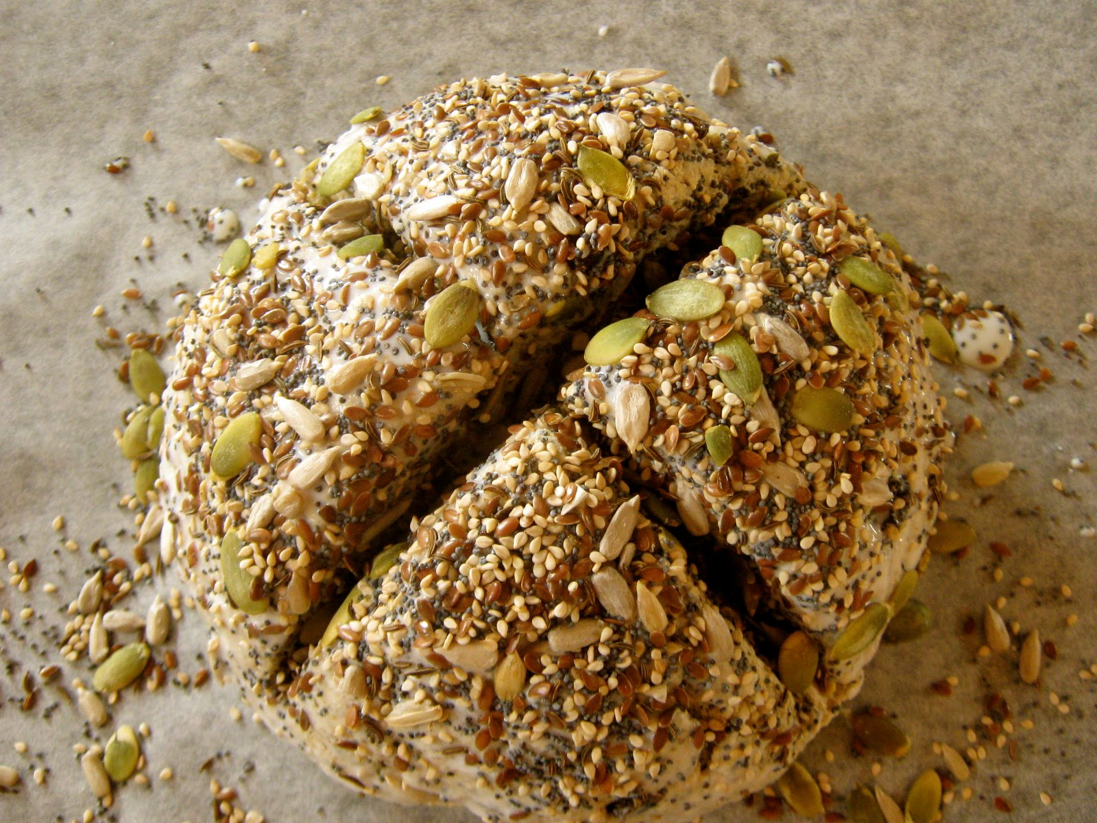 recipe is for six seed soda bread only i swiped out the fennel seeds ...