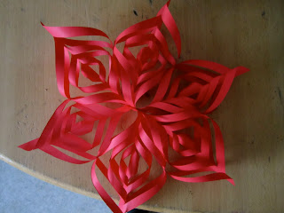 how to make a danish paper star