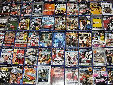 Kaset DVD Games Ps 2