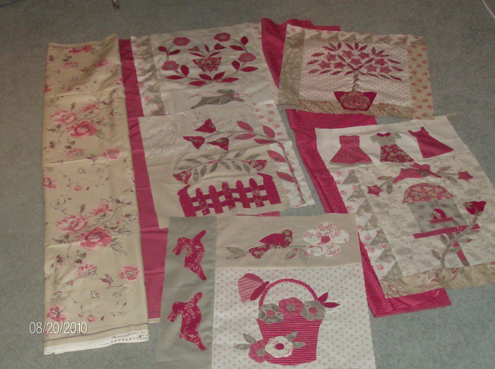 Lolastitchida: A Gardner's Journal/Le Jardin/A Kitten's Tale : le jardin quilt pattern - Adamdwight.com