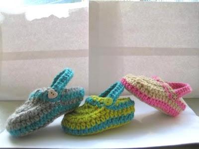 Simple Child Slippers | HodgePodge Crochet