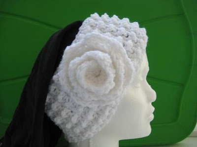 PATTERN – Braid and Crocheted Headband — Headband 17
