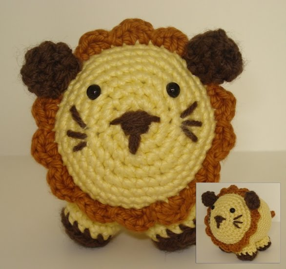Little Amigurumi Lion : Pieces of me: El pequeno leon