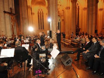Se realizó una Misa Tango en la Catedral de La Plata