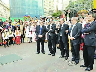 La fiesta por el Bicentenario se pone en marcha en la Ciudad de Buenos Aires