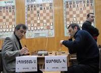 Partida de ajedrez Lputian contra Asrian en el Campeonato de Armenia 2008