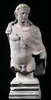 Exposición Roma, estatua de Trajano - Hércules