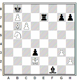 Problema número 173 en problemas de ajedrez