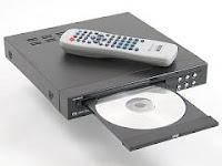Un reproductor de DVD en electrodomésticos