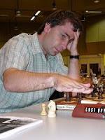 Ivanchuk jugando partidas de ajedrez relámpago