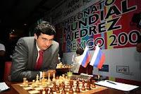 Vladimir Kramnik en el Campeonato Mundial de Ajedrez 2007