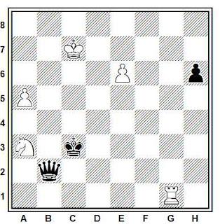 Problema número 281 en problemas de ajedrez